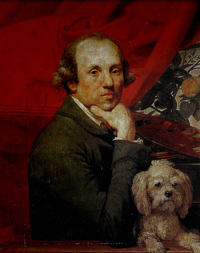 640px-Johan_Zoffany._Self_portrait_with_dog,_Roma