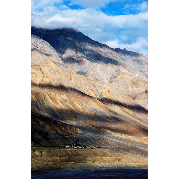 Spiti Valley with cloud shadow