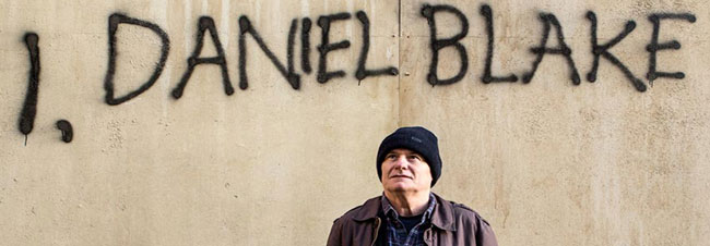 22 Feb: Special screening of I, Daniel Blake directed by Ken Loach as part of our Dococlub