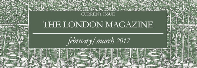Celebrating the launch of the new edition of The London Magazine – England's oldest literary magazine